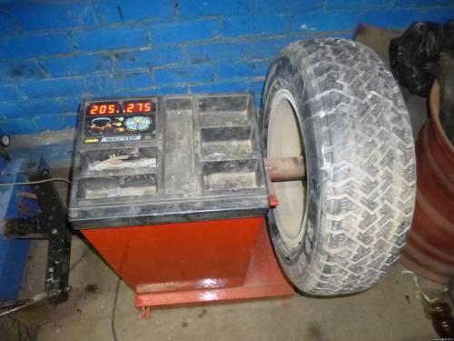 Балансировка легковых и грузовых шин